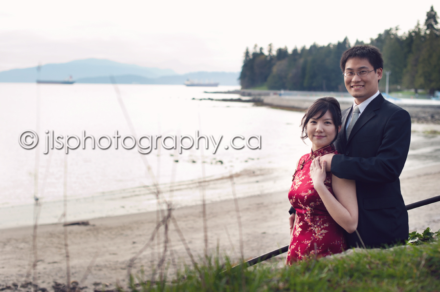 Vancouver Wedding Photography, Vancouver Engagement Photography, Richmond Wedding Photography, Richmond Engagement PHotography, Chinese Engagement Photos, Chinese Wedding Photography, Stanley Park Vancouver BC, Second Beach Vancouver BC, Garden Engagement Photos, Cherry Blossom Engagement PIctures, JLS Photography, jlsphotography.ca,