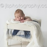 Posed on ikea bed, Newborn baby sleeping, Newborn boy posed sleeping on a bed