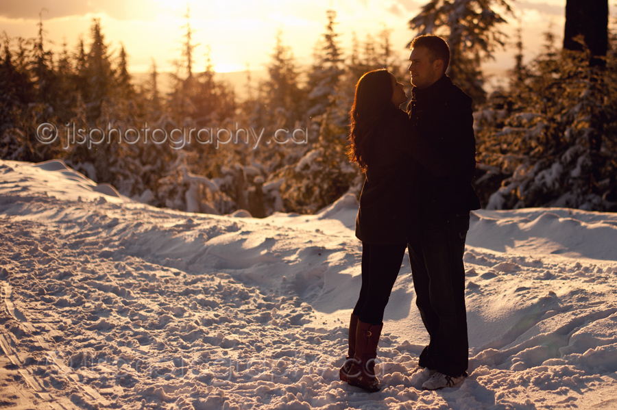 Vancouver Wedding Photography, Engagement Session, Snowy Engagement Session, Seymour Mountain, North Vancouver BC, Vancouver Engagement Session, Vancouver Portrait Photographer, North Vancouver Portrait Photography