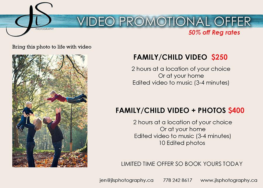 Family Videographer, Langley Videographer, Vancouver Videographer